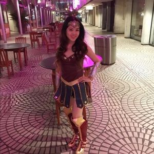 Wonder Woman costume!